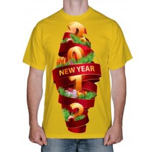 """Футболка """"Новый год 2012"""""""