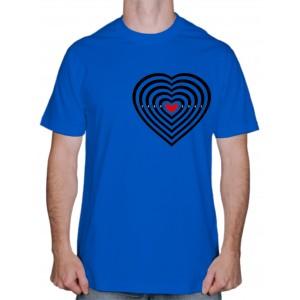 "Футболки для влюблённых ""Heart Target"""