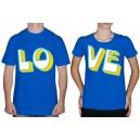 Парные_футболки _Together_in _Love_синие