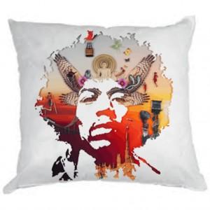"""Фото на подушке """"Jimi Hendrix"""""""