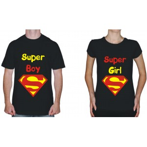 "Футболка парная ""Super girl"""