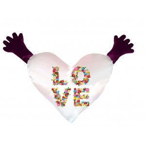 """Подушка сердце """"Любовь"""""""