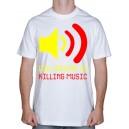 "Футболка ""Music kill"""