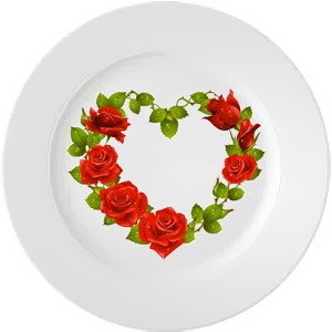 """Тарелка """"Розы"""""""