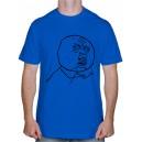 """Крутая футболка """"Смайлы Троллфейс"""""""