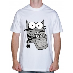 """Крутая футболка """"Прикольный Котэ"""""""