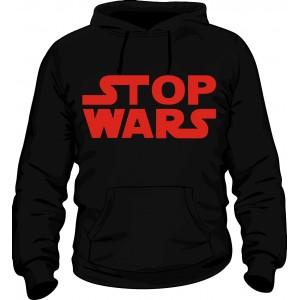 """Прикольные толстовки """"Stop wars"""""""