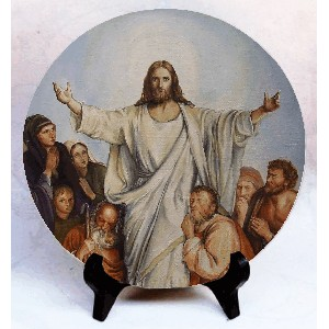 "Фото на камне ""Иисус"""