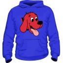 Толстовка Красный пёс