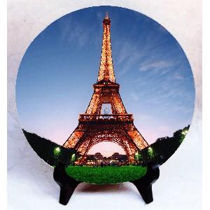 "Фото на камне ""I love Paris"""