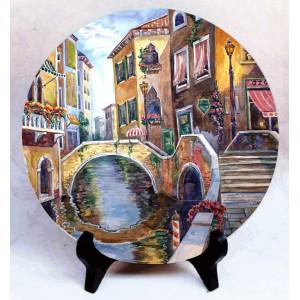 """Фото на камне """"Венеция"""""""