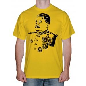 """Футболка """"Сталин против марсиан"""""""