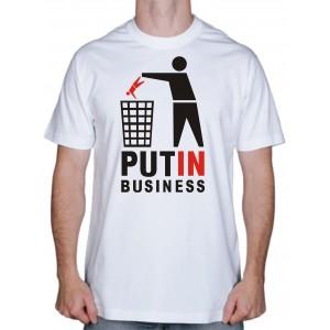 """Футболка """"Путин снова президент"""""""