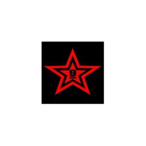 "Наклейка ""Звезда 9 мая"""