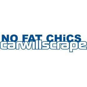 """Наклейка """"No Fat"""""""