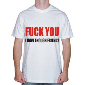 Футболки с надписями, футболка Fuck You