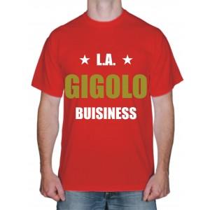"""Футболки с надписями, футболка """"Gigolo"""""""