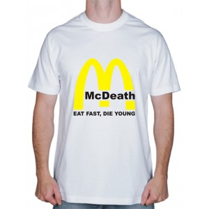"Футболка ""McDeath"""