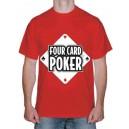 "Футболка ""Four Card Poker"""