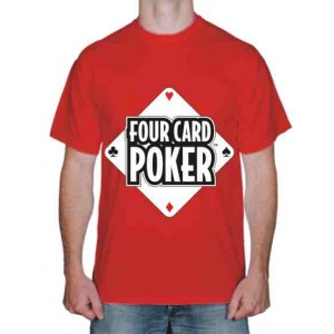 "Футболка ""Four Card Poker"""