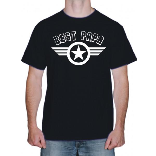 Порезать футболку Бейсболок Best papa футболка.