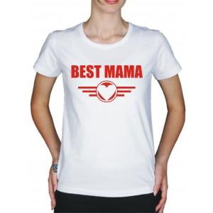 "Футболка для родителей ""Best Mama"""
