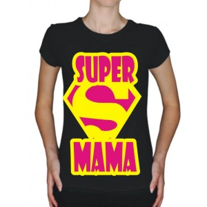 "Футболка для родителей ""Супер Mama"""
