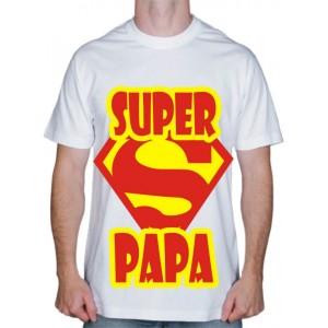 """Футболка для родителей """"Супер Papa"""""""