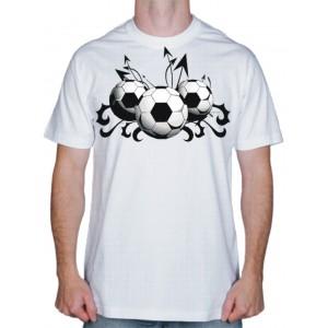 """Фото на футболке, """"Football"""""""