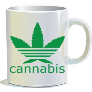 """Кружка """"Cannabis"""""""