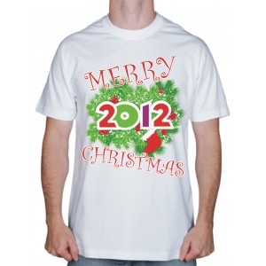 "Футболка ""Merry Christmas"""