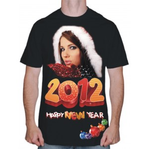"Футболка ""2012 New Year"""